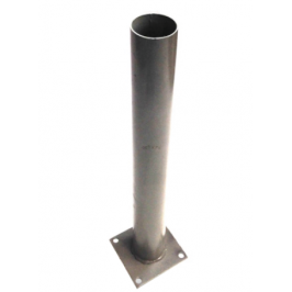 Анкерное основание для столбов из ДПК. Размер 3х110хд60х800